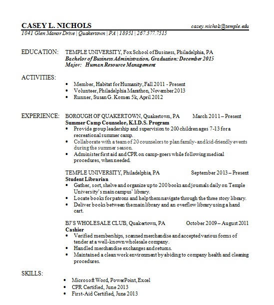 resume  u2013 casey nichols