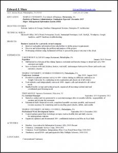 resume edward shen