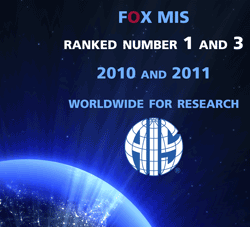 FOX MIS Number 1 and 3 in 2010 and 2011