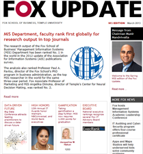 Fox Update March 2013