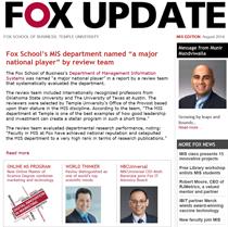 Fox Update MIS August 2014
