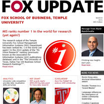 Fox Update March 2015