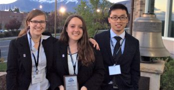 MIS students win big at the National AIS Student Leadership Conference and Competition