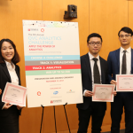Ngoc Pham, Chi Pham, Run Zhu, and Jiawei Huang win Analytics Challenge