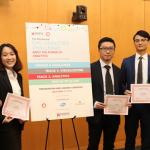Ngoc Pham, Chi Pham, Run Zhu, and Jiawei Huang win Analytics Challenge