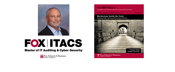 "Gregory Senko – ITACS Associate Director: ""Barbarians Inside the Gate: Dealing With Advanced Persistent Threats"""