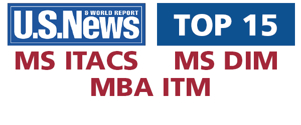 MIS graduate programs move into US News & World Report's top 15