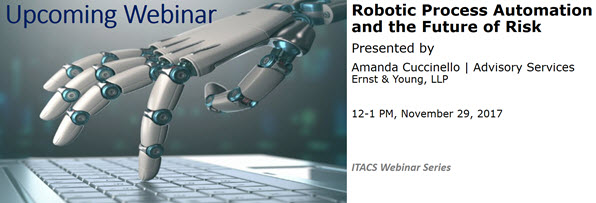 Webinar: Robotic Process Automation and the Future of Risk