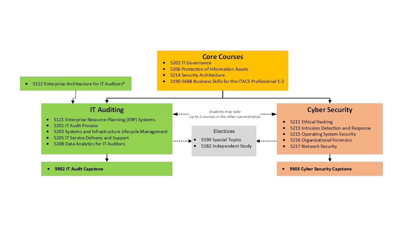 Information Technology Auditing and Cyber Security   ITACS