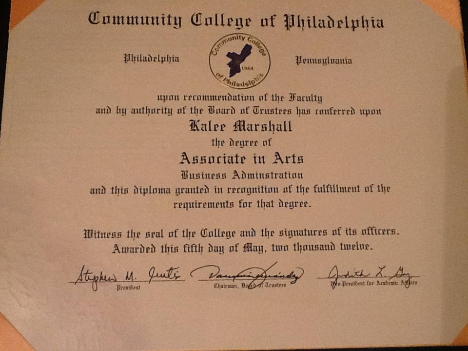 Associate Degree - Associates Degree In Business ...