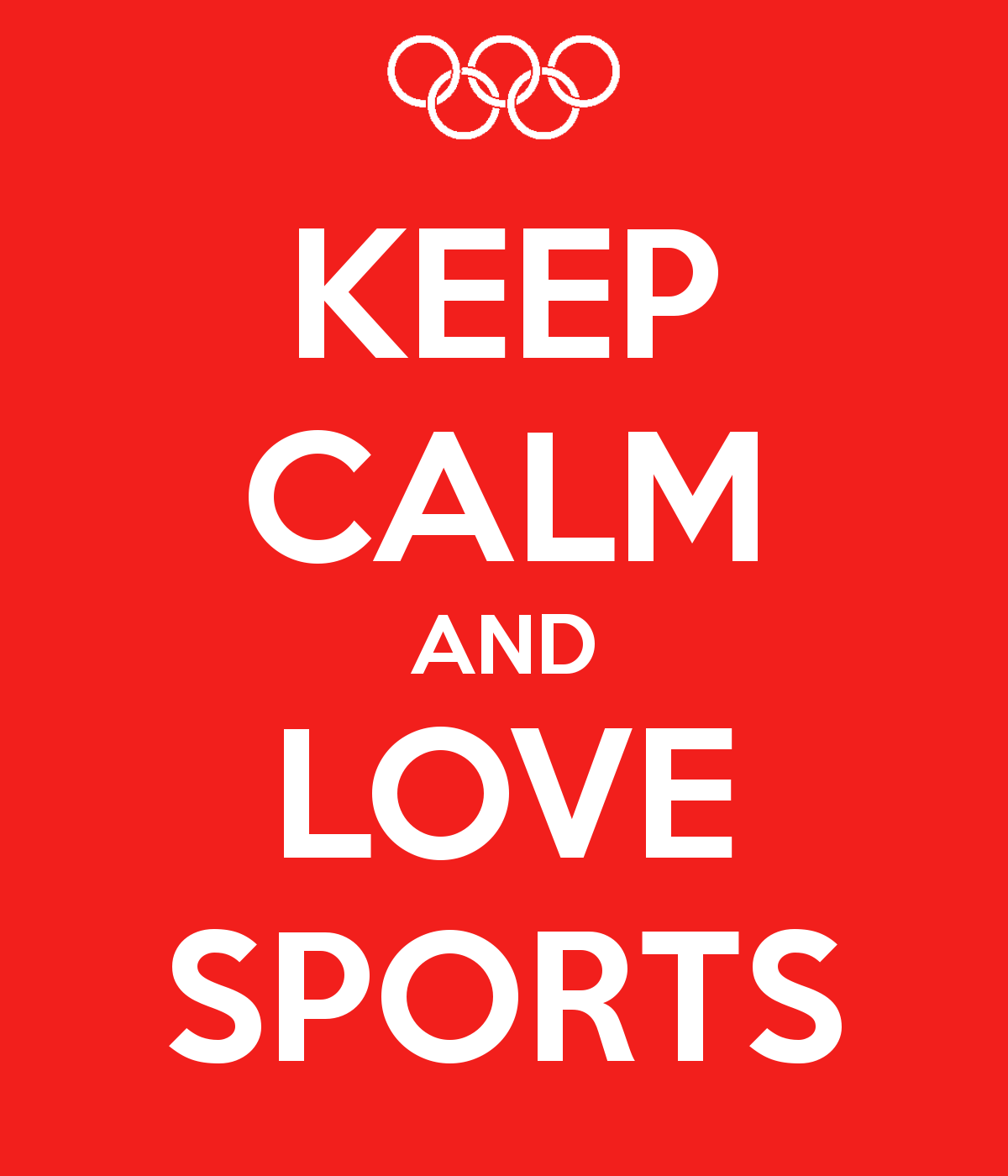 for the love of sports The love of - nay, addiction to - competitive and solitary sports cuts across all social-economic strata and throughout all the demographics whether as a passive.