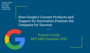 Pixton's Guild Google Title Slide