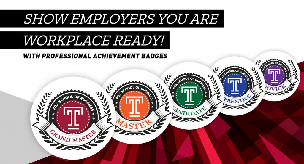 Professional Achievement Badges