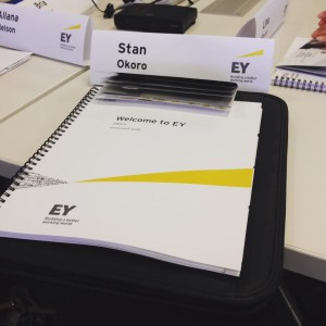 Ernst & Young Summer 2015 Launch Internship Experience